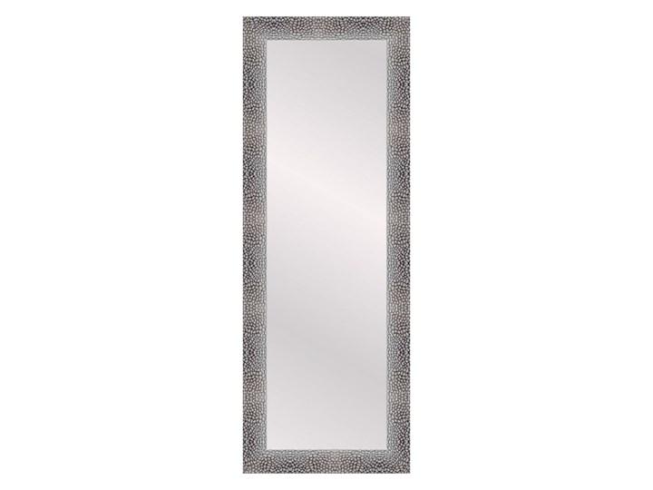 Lustro prostokątne Aka 35 x 120 cm w ramie srebrne
