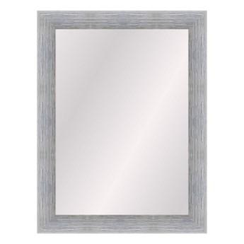 Lustro prostokątne Alessia 50 x 70 cm w ramie srebrne