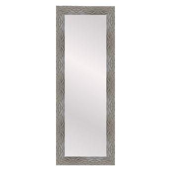 Lustro prostokątne Borne 35 x 120 cm w ramie brązowe