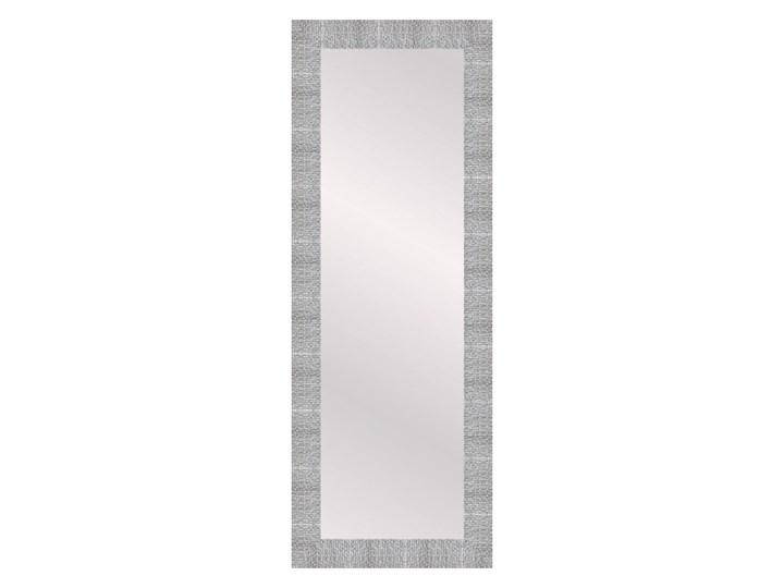 Lustro prostokątne Chaba 35 x 120 cm w ramie srebrne