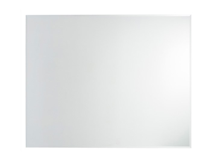 Lustro prostokątne Cooke&Lewis Ferryside 100 x 80 cm fazowane Lustro bez ramy Styl Nowoczesny Ścienne Pomieszczenie Łazienka