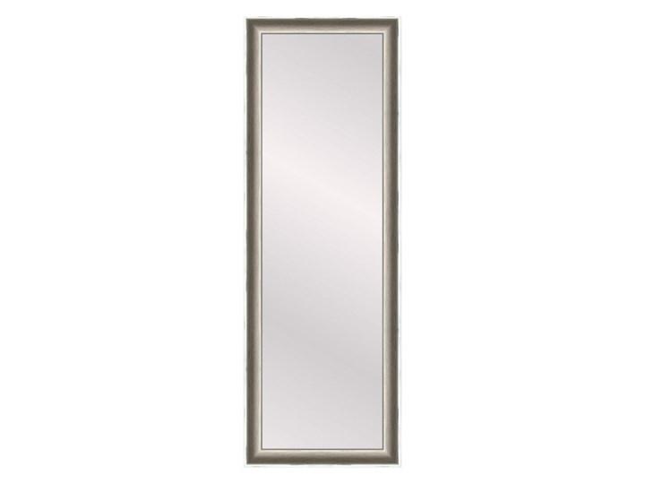 Lustro prostokątne Florence 35 x 120 cm w ramie białe