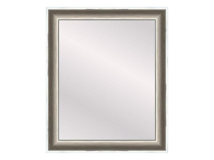 Lustro prostokątne Florence 40 x 50 cm w ramie białe