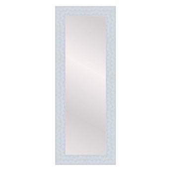 Lustro prostokątne Flow 35 x 120 cm w ramie białe
