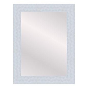 Lustro prostokątne Flow 50 x 70 cm w ramie białe