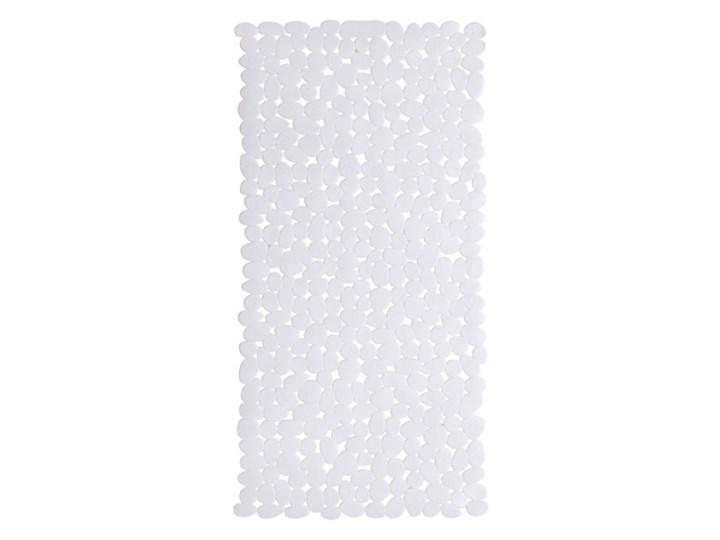 Mata łazienkowa Batumi do wanny biała Prostokątny Kolor Biały Kategoria Dywaniki łazienkowe