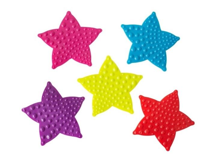 Mini maty łazienkowe Batumi gwiazdy Kategoria Dywaniki łazienkowe Mata Nieregularny Kolor