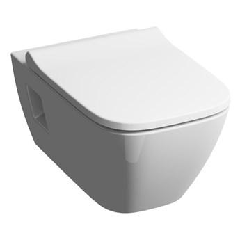 Miska WC wisząca Koło Modo Slim bezkołnierzowa z deską wolnoopadającą z duroplastu