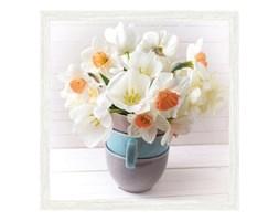 Obraz Białe kwiaty 30 x 30 cm