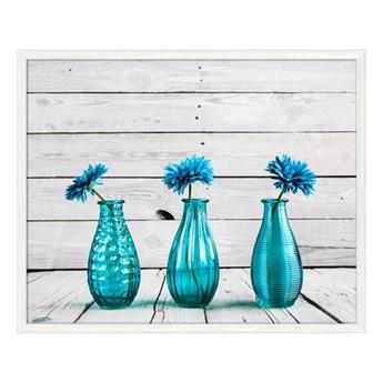 Obraz Niebieskie Butelki 40 x 50 cm