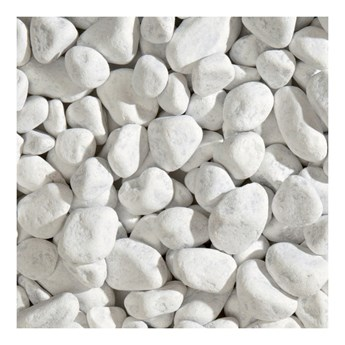Otoczak Blooma Carrara 40-60 mm 20 kg biały