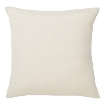 Poduszka 35 x 35 cm kremowa