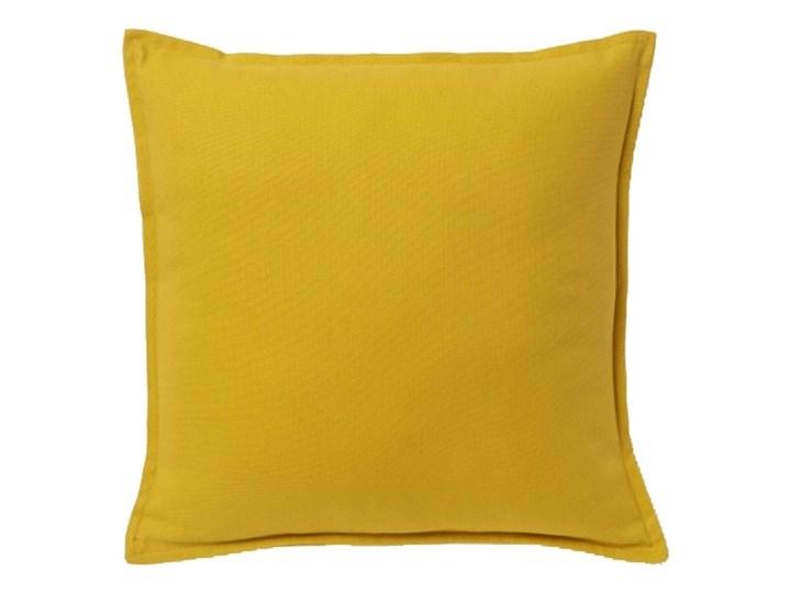 Poduszka GoodHome Hiva 45 x 45 cm musztardowa Kolor Pomarańczowy Bawełna Kwadratowe 45x45 cm Poduszka dekoracyjna Poliester Pomieszczenie Pokój nastolatka