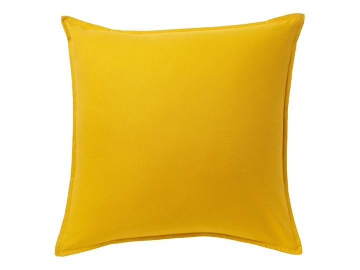 Poduszka GoodHome Hiva 60 x 60 cm musztardowa Kwadratowe Bawełna 60x60 cm Poduszka dekoracyjna Poliester Kategoria Poduszki i poszewki dekoracyjne