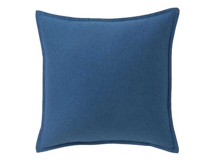 Poduszka GoodHome Hiva 60 x 60 cm niebieska Bawełna Kwadratowe Poliester 60x60 cm Poduszka dekoracyjna Kategoria Poduszki i poszewki dekoracyjne