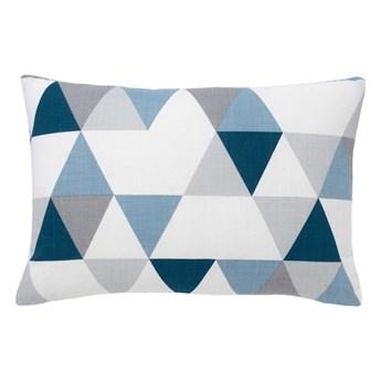 Poduszka GoodHome Rima 40 x 60 cm niebieska
