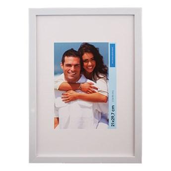 Ramka na zdjęcia 21 x 30 cm połysk biała