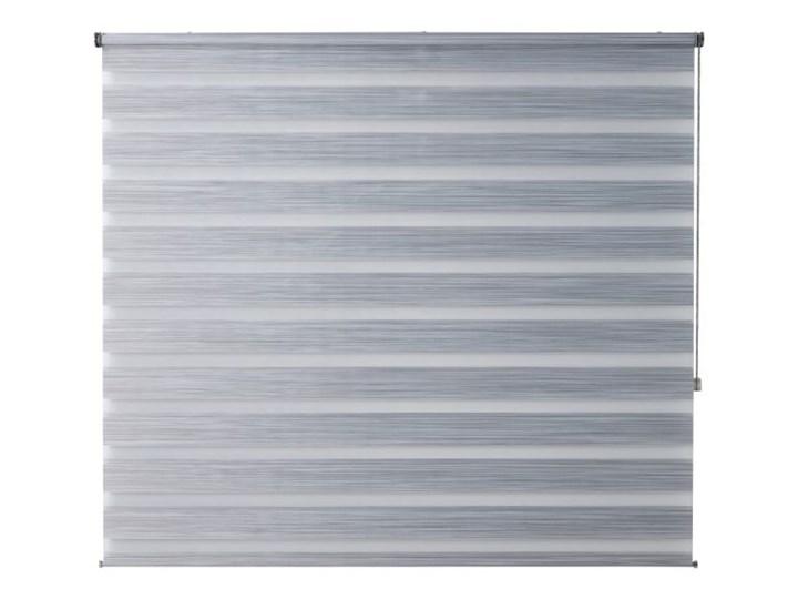 Roleta dzień/noc Colours Kala 156,5 x 180 cm szara Pomieszczenie Pokój nastolatka