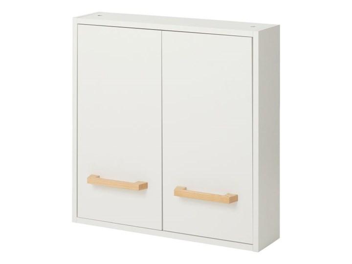 Szafka łazienkowa GoodHome Ladoga 60 x 60 x 15 cm biała Płyta MDF Szerokość 60 cm Wiszące Płyta stolarska Wysokość 60 cm Szafki Kolor Biały