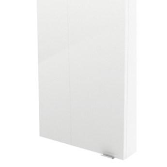 Szafka wisząca GoodHome Imandra 40 x 90 x 15 cm biała