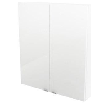 Szafka wisząca GoodHome Imandra 80 x 90 x 15 cm biała