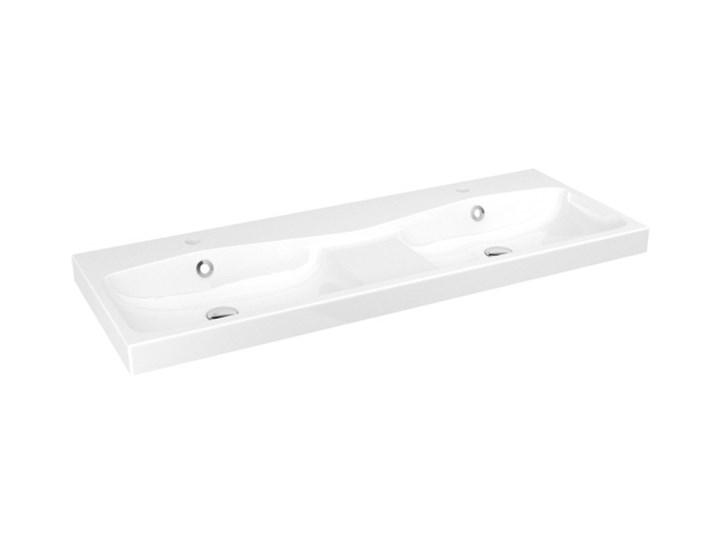 Umywalka konglomeratowa GoodHome Mila 120 cm z syfonem Wolnostojące Prostokątne Kategoria Umywalki