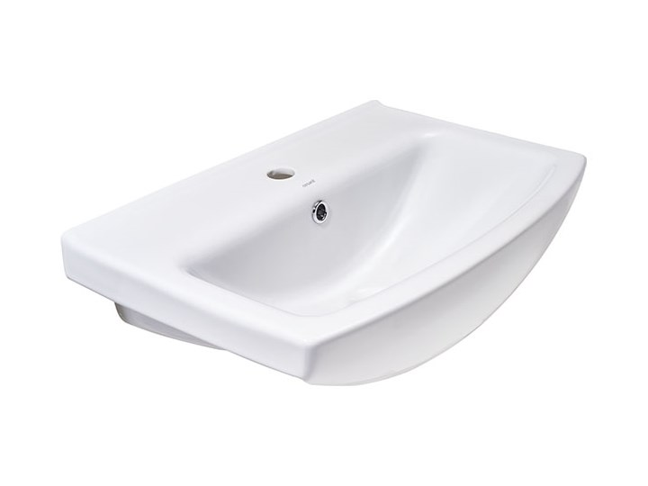 Umywalka meblowa ceramiczna Cersania 60 cm z otworem na armaturę