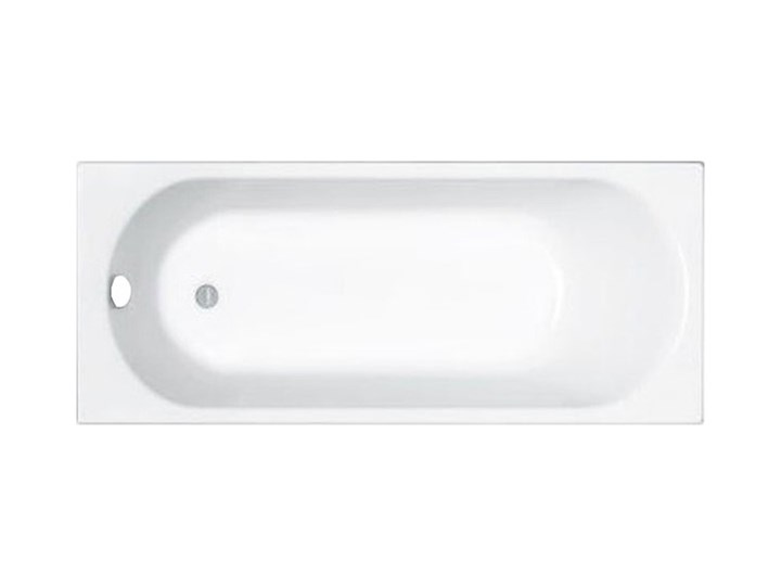 Wanna stalowa Inker Brava bez obudowy 170 x 70 cm biała