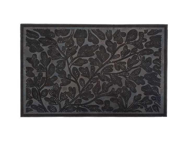 Wycieraczka Porto 36,5 x 58 cm listki Guma Kategoria Wycieraczki