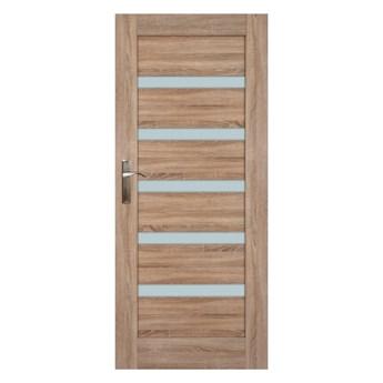 Drzwi pokojowe Everhouse Credis 80 prawe dąb sonoma