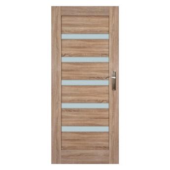 Drzwi pokojowe Everhouse Credis 90 lewe dąb sonoma