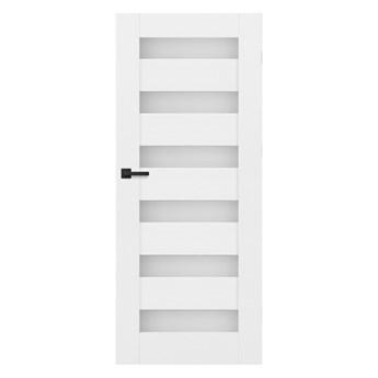 Drzwi pokojowe Trame 80 prawe białe