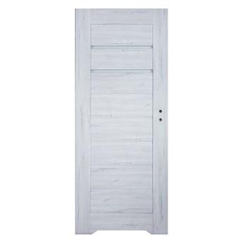 Drzwi z podcięciem Winfloor Minoris 80 lewe silver