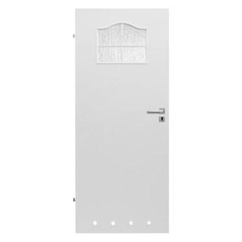 Drzwi z tulejami Klasyk 60 lewe białe