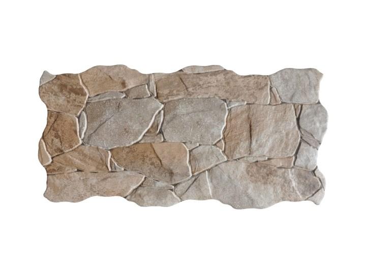 Gres Mirnew 23 x 47 cm natural 1,61 m2 Płytki tarasowe 23x47 cm Nieregularny Płytki podłogowe Kolor Brązowy