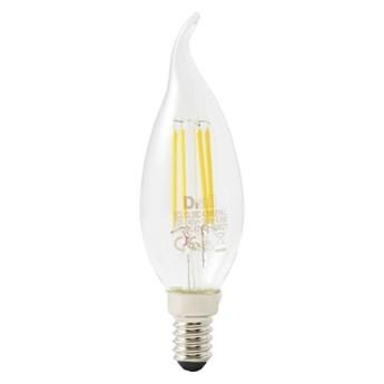 Żarówka LED Diall B35 E14 4,5 W 470 lm przezroczysta barwa ciepła