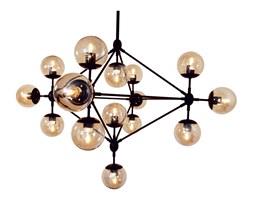 Lampa wisząca Step into design Astrifero bursztynowo-czarna kod: 5903351255134