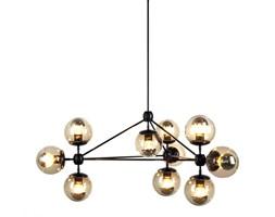Lampa wisząca Step into design Astrifero bursztynowo-czarna kod: 5903351255127