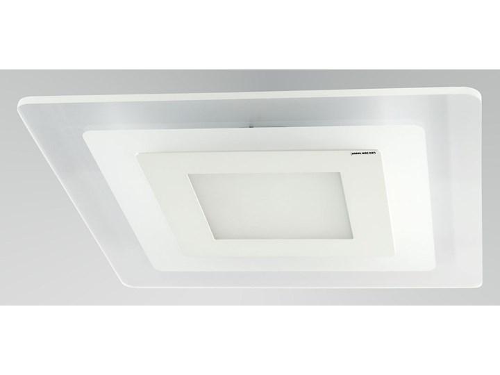 Elegancka Lampa na Sufit MARS Szklany Kwadratowy Plafon Źródło Światła LED Oświetlenie Auhilon