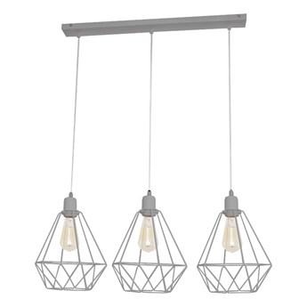 Lampa wisząca metalowa druciana KARO W-L 1311/3 GR