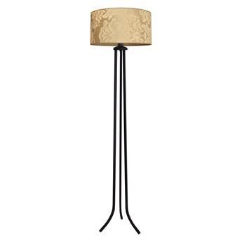 Lampa stojąca abażur złoty ABBA S-0401/1 GO