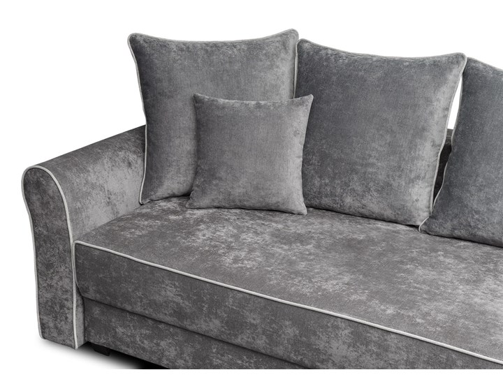 Sofa NEW YORK z funkcją spania Stała konstrukcja Kolor Szary