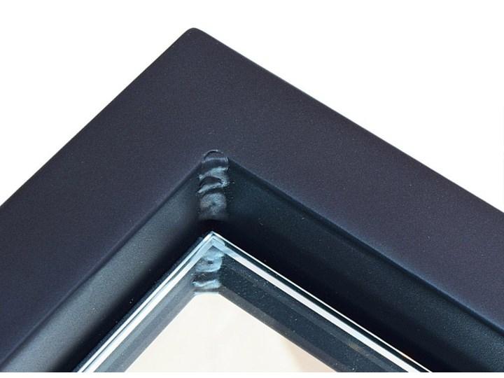 Lustro LED Livia Steel Prostokątne Ścienne Lustro podświetlane Styl Nowoczesny