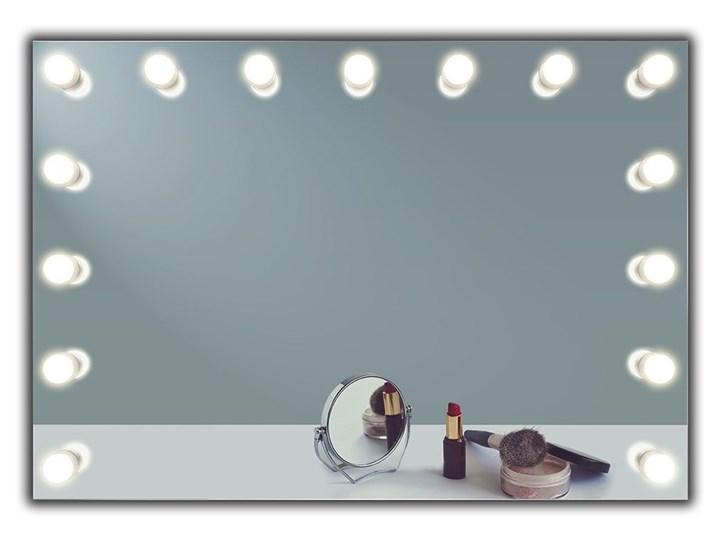 Lustro Hollywood Prostokątne Ścienne Lusterko kosmetyczne Lustro podświetlane Pomieszczenie Garderoba Kategoria Lustra