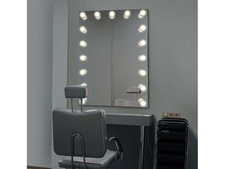 Lustro Hollywood Lustro podświetlane Ścienne Pomieszczenie Garderoba Prostokątne Lusterko kosmetyczne Kategoria Lustra