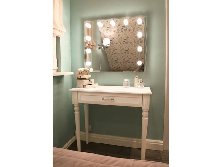 Lustro Hollywood Lustro podświetlane Lusterko kosmetyczne Prostokątne Ścienne Kategoria Lustra Pomieszczenie Garderoba