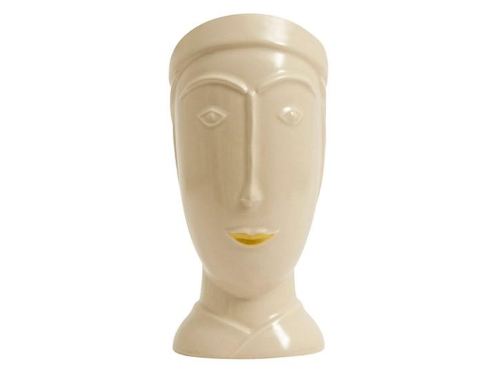 Norda figurka dekoracyjna  twarz Ceramika Ceramika