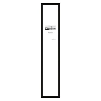 Ramka na zdjęcia Denn 12 x 70 cm czarna drewniana