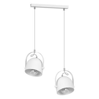 DOBSON 2 WHITE 774/2 nowoczesna lampa wisząca biała