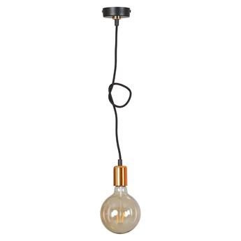 UNIVERSAL 1 BLACK 260/1 lampa wisząca regulowana w stylu industrialnym miedź czarna
